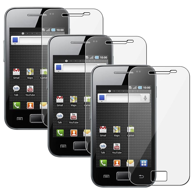 Screen Protector for Samsung Galaxy Ace SGH-S5830 (Pack of 3)