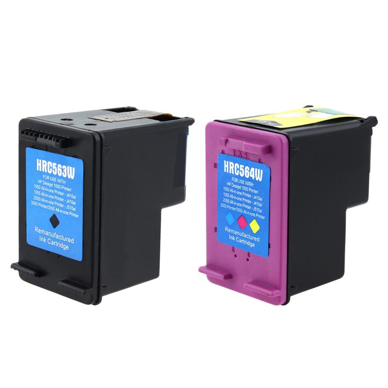 Insten Black Remanufactured Ink Cartridge Replacement for HP CH563WN/ 61XL - Thumbnail 0