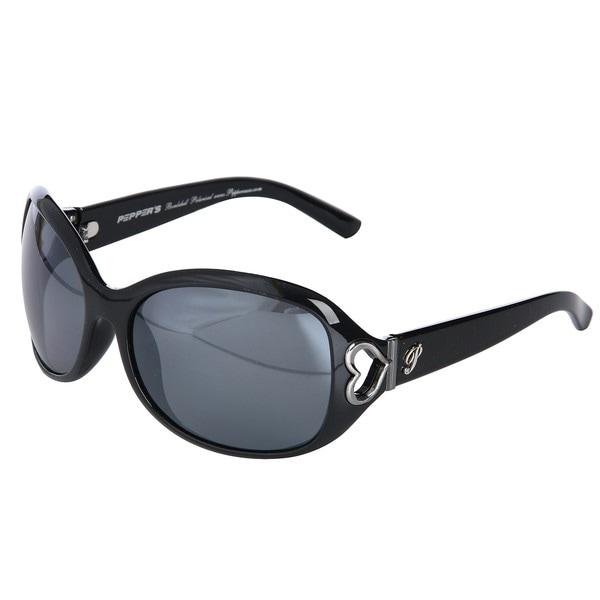 Pepper's Women's Delfina Black Sunglasses