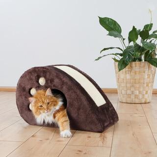 Trixie Topi Single Cat Condo and Scratcher