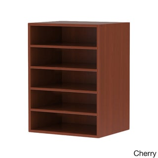 Mayline Aberdeen Desktop Literature Organizer with 5 Horiz. Compartments