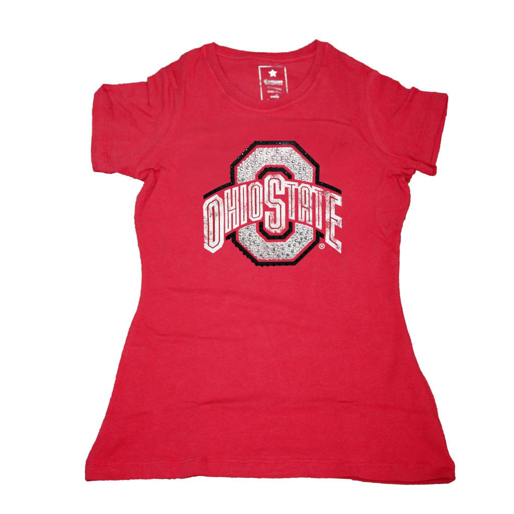 Campus Couture Women's Ohio State Buckeyes Krista T-shirt