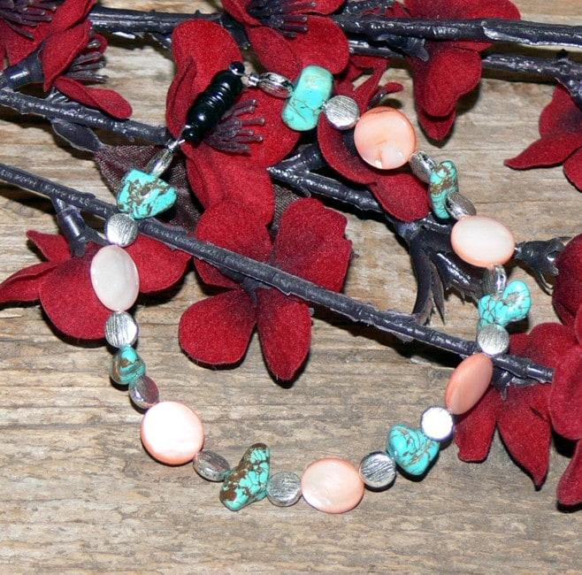 Susen Foster Silverplated Desert Sands Multi-gemstone Bracelet