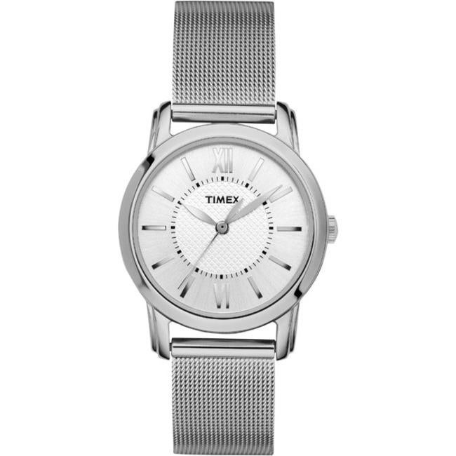 Timex T2N6799J Women's Elevated Classics Dress Uptown Chic Stainless Steel Watch