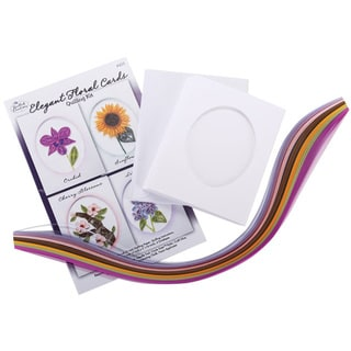 Quilled Creations Elegant Floral Cards Quilling Kit