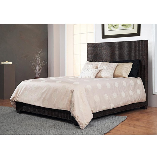 Shop Natural Rattan King Size Low Profile Bed Free