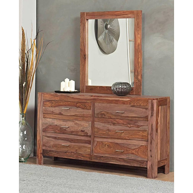 6 Drawer Solid Sheesham Dresser Free Shipping Today