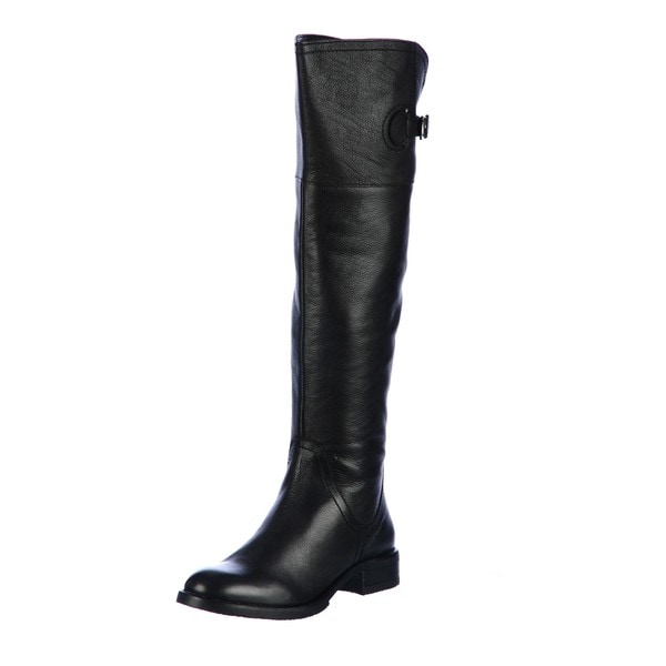 e06b37613e6 Shop Diba Women's 'Taa Daa' Over-the-Knee Leather Boots FINAL SALE ...
