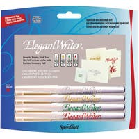 Elegant Writer All Occasion Gold/ Silver/ Red/ Green Calligraphy Set
