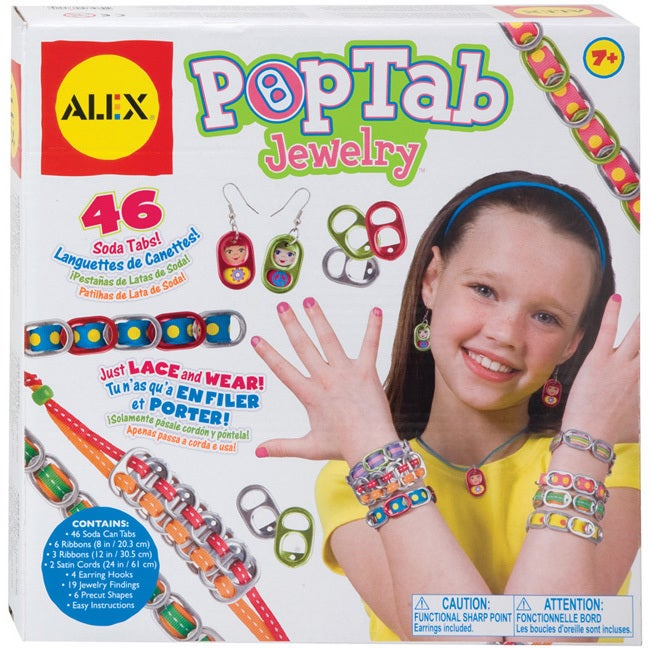 Alex Toys NOM482450 Pop Tab Jewelry Kit