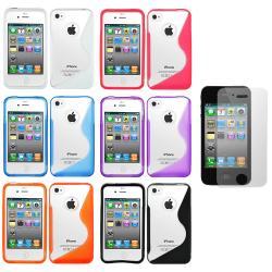 Thumbnail 3, Premium Apple iPhone 4 Hybrid TPU Case. Changes active main hero.