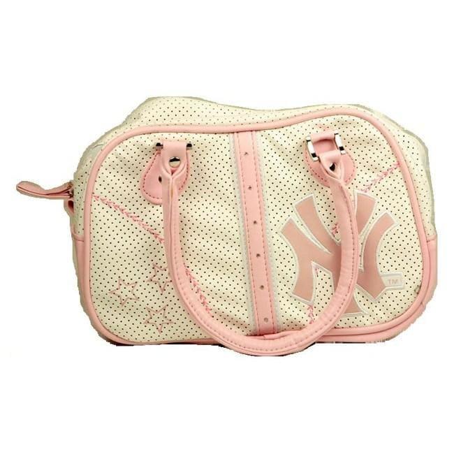 Concept One New York Yankees Pink Bowler Bag