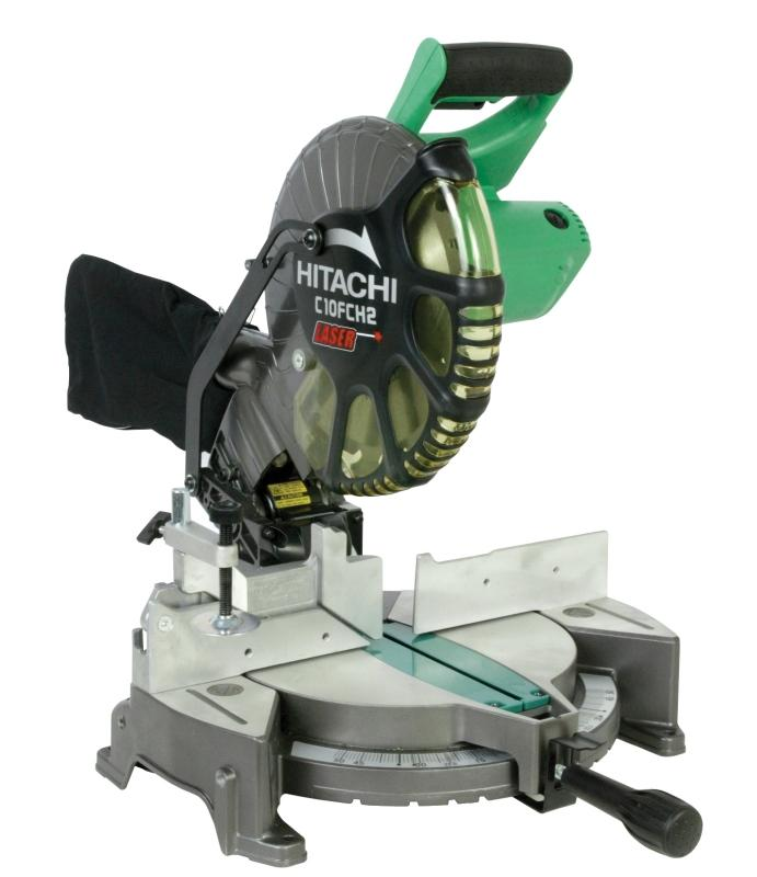 Hitachi 10 In. Compound Miter Saw C10FCH2