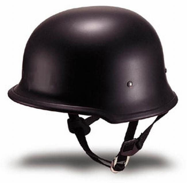 DOT German Flat Motorcycle Helmet