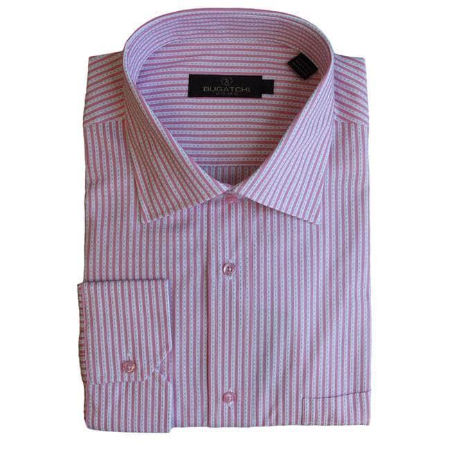 Bugatchi Uomo Men's Long-sleeve Multi-stripe Button-front Shirt