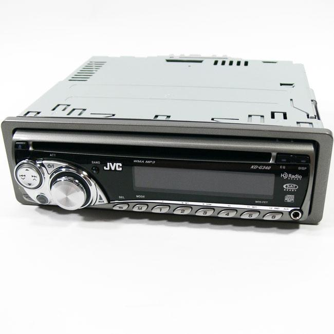 Shop JVC KD-G340 In-dash Car Stereo (Refurbished)