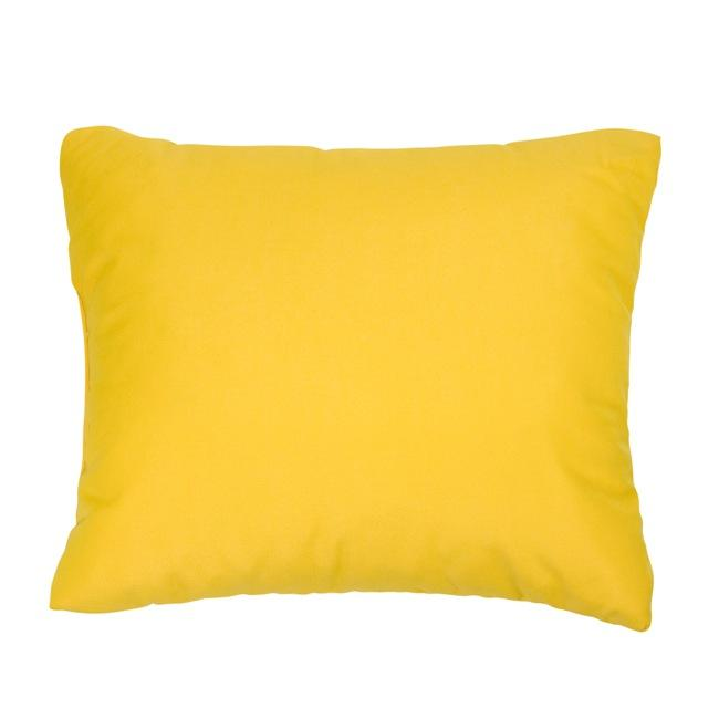 Shop Canvas Sunflower Yellow Knife Edge Outdoor Pillows With