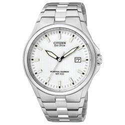 Citizen Men's Silvertone Eco-Drive Watch