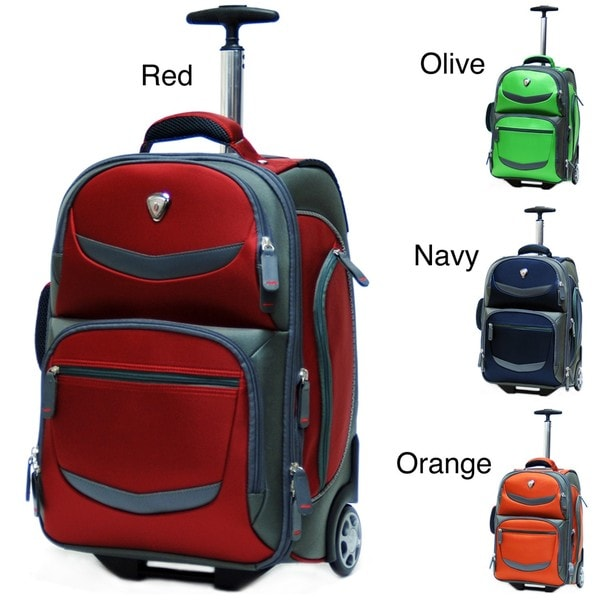 CalPak Discover 19-inch Deluxe Rolling Laptop Backpack