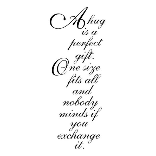Penny Black Perfect Gift Rubber Stamp