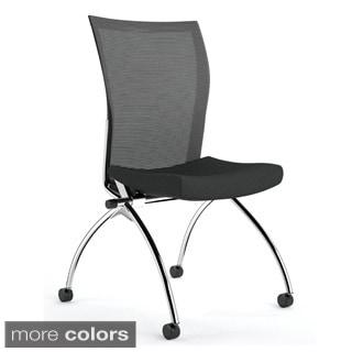 Mayline Valore High Back Chairs (Set of 2)