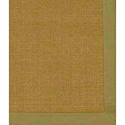 Asian Hand-woven Beige Sisal Natural Fiber Rug (2'6 x 4') - Thumbnail 2