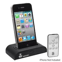 Pyle Universal iPod/iPhone Docking Station For Audio Output Charging - Sync W/iTunes And Remote control
