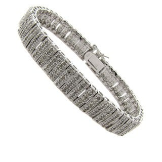 2ct TDW Diamond Stripe Bracelet