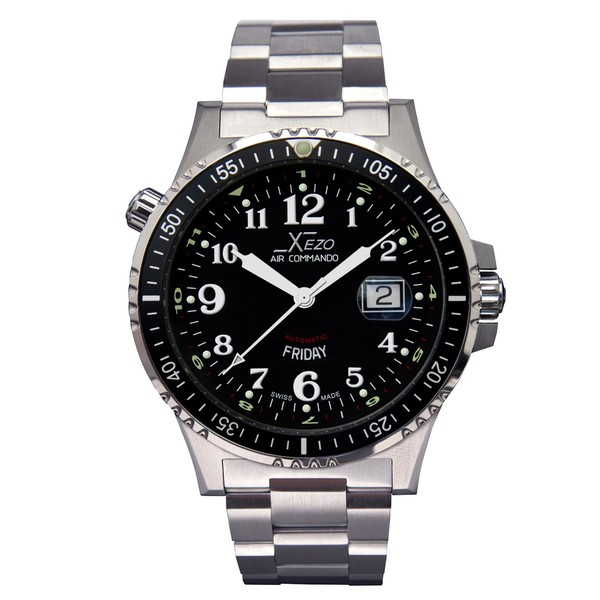 Xezo Men's Air Commando D44 Swiss Automatic Watch