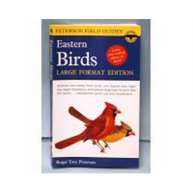 Peterson Books Eastern Birds Lg Format Edition