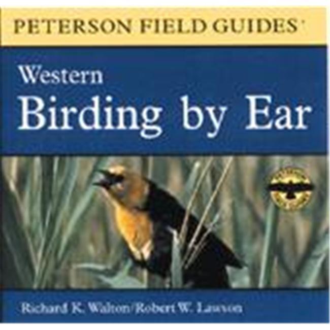 Peterson Books Birding by Ear Western CD Book