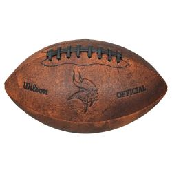 Wilson Minnesota Vikings 9-inch Composite Leather Football
