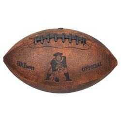 New England Patriots 9-inch Composite Leather Football - Thumbnail 0