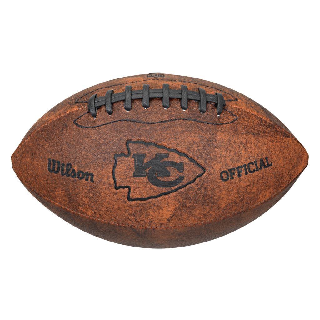 Wilson NFL Kansas City Chiefs 9-inch Composite Leather Football