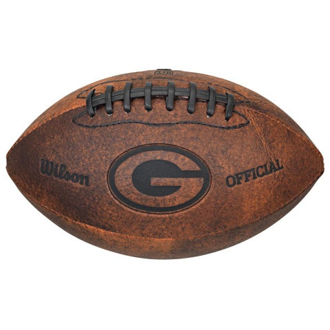Wilson NFL Green Bay Packers 9-inch Composite Leather Football