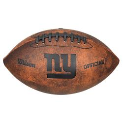 Wilson NFL New York Giants 9-inch Composite Leather Football