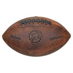 Miami Dolphins 9-inch Composite Leather Football|https://ak1.ostkcdn.com/images/products/6101504/76/679/Miami-Dolphins-9-inch-Composite-Leather-Football-P13769008.jpg?impolicy=medium