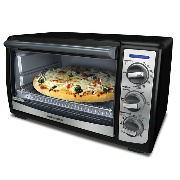 Black & Decker TRO4075B Convection Toaster Oven - Free Shipping Today - Overstock.com - 13769046