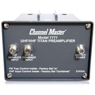 Channel Master CM-7777 TITAN 2 Antenna Preamplifier - High Gain