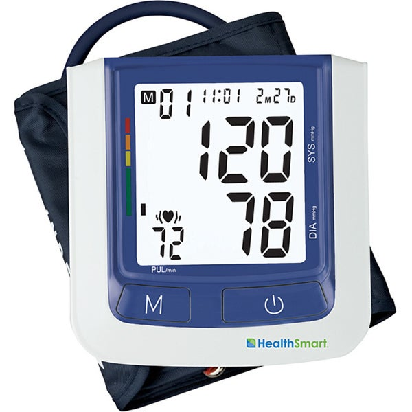 Healthsmart Talking Automatic Arm Digital Blood Pressure Monitor