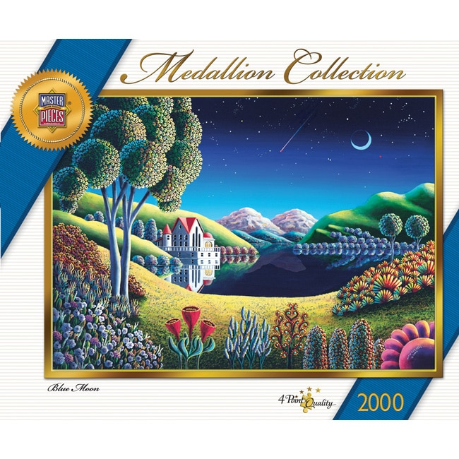 Masterpieces Blue Moon 2000-piece Jigsaw Puzzle