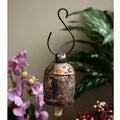 Copper/Brass Nana Bells with Wood Clapper (India)