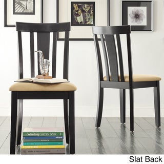Wilmington Black Dining Chair (Set of 2) by TRIBECCA HOME