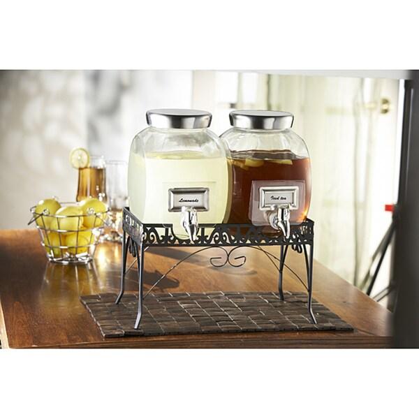 Good 2 Gallon Beverage Dispenser - Style-Setter-Williamsburg-2-gallon-Glass-Beverage-Dispenser-Set-29a99824-7207-47d0-be6e-b6a8b3a2acb7_600  Photograph_26580.jpg