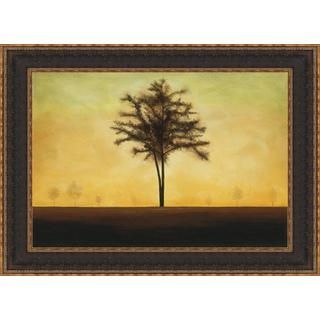 St. Germain 'Golden Horizon' Framed Print Art