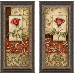 Igor Levashov 'Romantic Gesture I & II' Framed Print Art