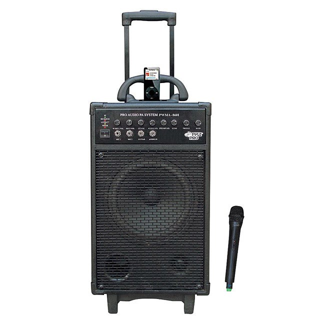 PylePro 500W VHF Portable PA System with iPod Dock (Refurbished)