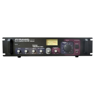 Pyramid RBPA305 300-watt 70V PA Amplifier with Mic Talkover (Refurbished)
