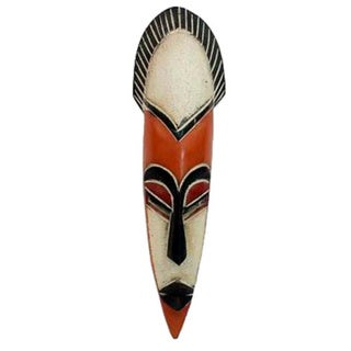African Sese Wood 'Protect The Forest' Mask