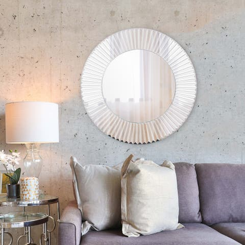 Turin Mirrored Glass Wall Mirror
